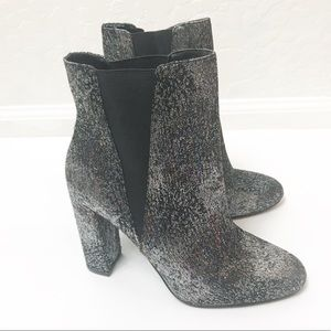 9709bf13540 NEW Steve Madden Effect Heeled Booties NWT